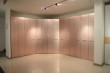 香槟色平板折叠门衣柜 浪漫女人空间