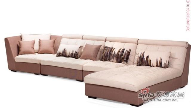 曲美S5Z2A简约时尚沙发