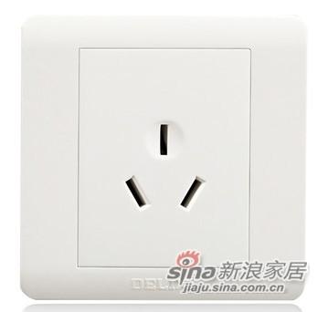 德力西16A空调电源插座