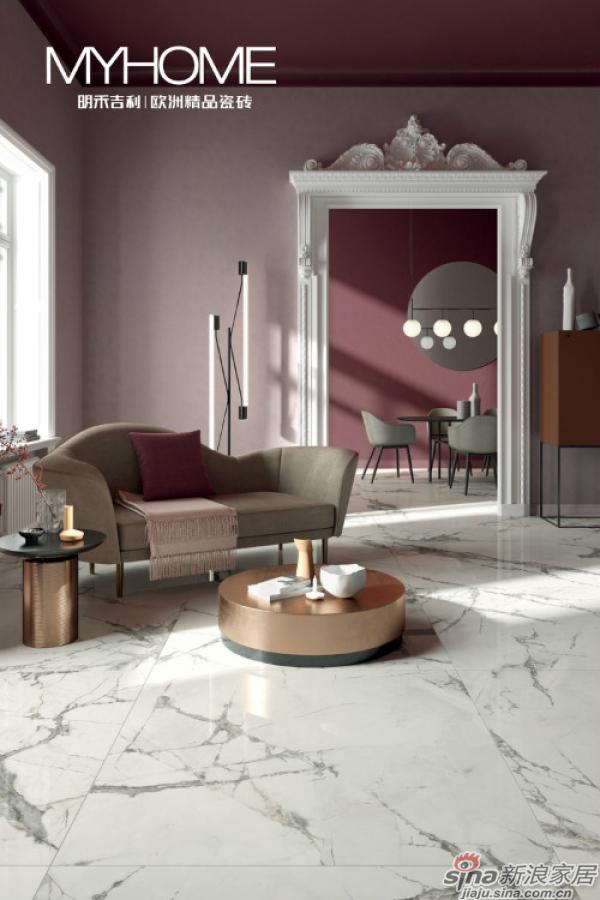 灵感石+系列包含了经典和现代大理石,完美地契合了当今建筑世界复杂奢华之感。