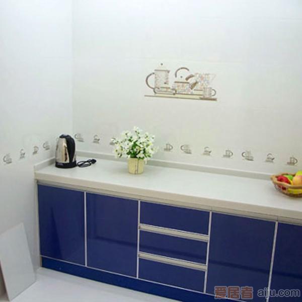 嘉路仕-白色几何图形墙砖-JL4562(300*450MM)1
