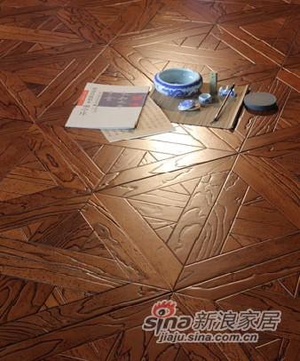 宏鹏地板艺术拼花系列—爱登堡世家PH138