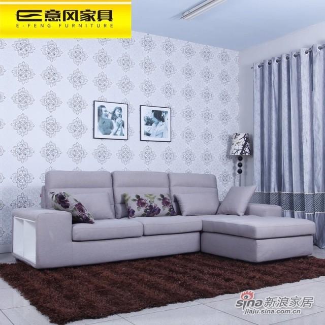 【喜临门】免工具安装1.8米婚床实木床 皮床双人软床皮艺床A616