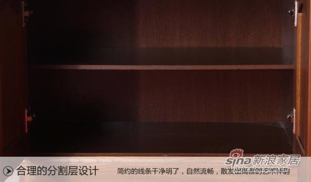 蓝鸟家具 多功能储物收纳储藏置物柜-3