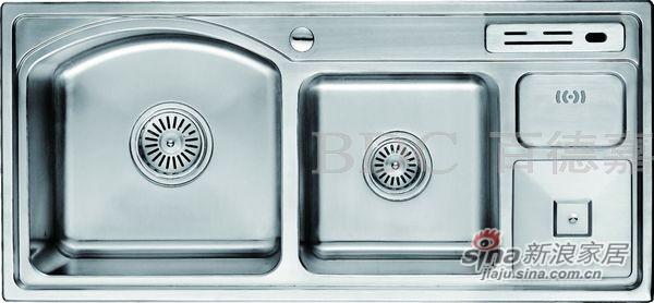 百德嘉五金龙头挂件-H762013不锈钢多功能水槽-0