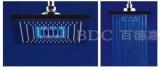 百德嘉五金龙头挂件-H712006-LED灯顶喷花洒