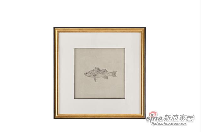 Tao Pond1实木框装饰画-1