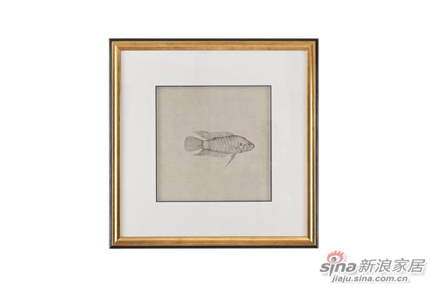 Tao Pond1实木框装饰画-2