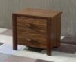 现代中式实木卧室床头柜