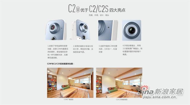 C2W 多功能互联网摄像机-2