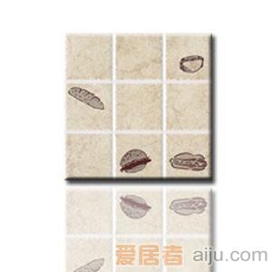 红蜘蛛瓷砖-复古砖系列-墙砖(花片)RW36013T1-3(300*300MM)
