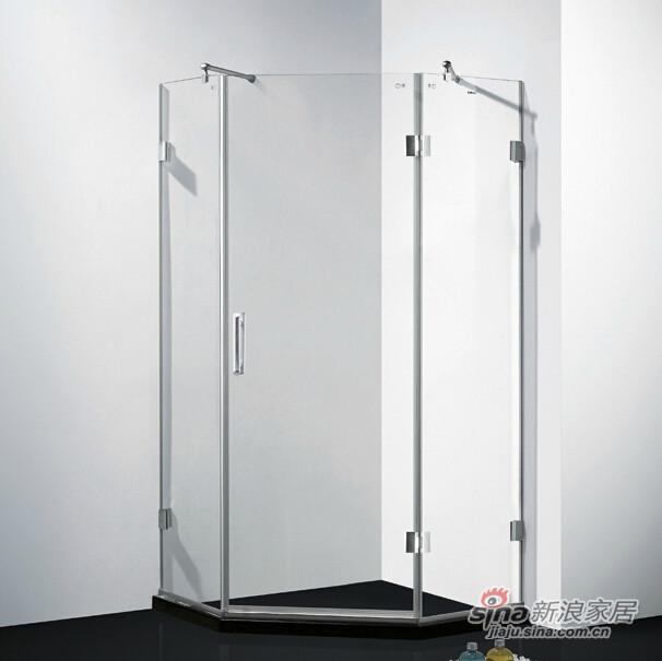 福瑞淋浴房ML7921钻石型高端淋浴房