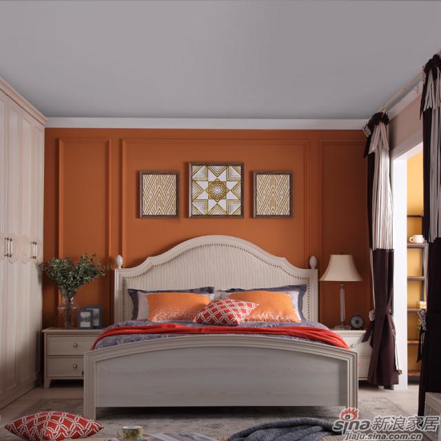掌上明珠新美式乡村卧房空间