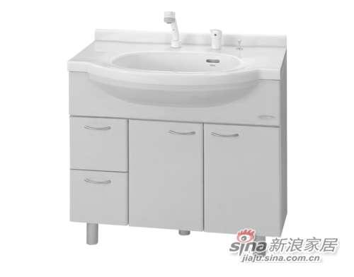 TOTO洗脸化妆台LDKW901DNB-0