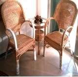 凰家御器藤椅藤家具三件套休闲椅阳台椅NH-A036