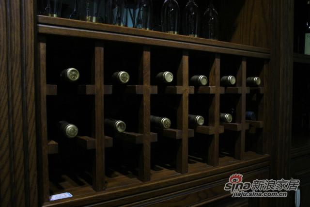 实木酒柜-2