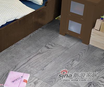 德合家ROOMS 强化地板RV808灰色橡木