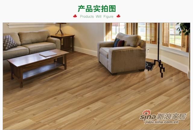 北美枫情地板 强化复合地板-2
