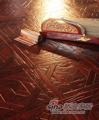 宏鹏地板艺术拼花系列—苏格兰爵士PH168