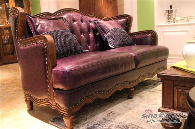 梓乔家具-布鲁斯系列产品-沙发