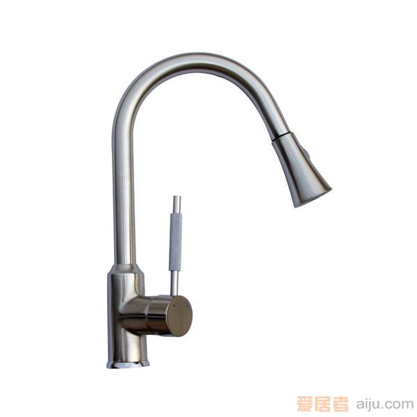 GORLDE单把高抛厨房水槽/洗菜池龙头XDD/365LY1