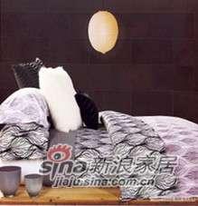 紫罗兰家纺床上用品全棉活性印花四件套灰色迷情VPEA379-4-0