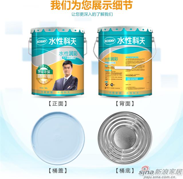 水性润彩环保内墙乳胶漆-18L-13