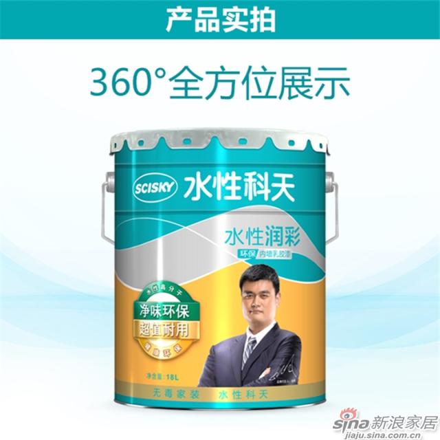 水性润彩环保内墙乳胶漆-18L-2