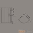 惠达-HD2107简易淋浴房(配底盆)