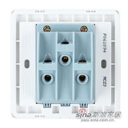 欧普专柜正品 86型电工面板墙壁开关插座-1