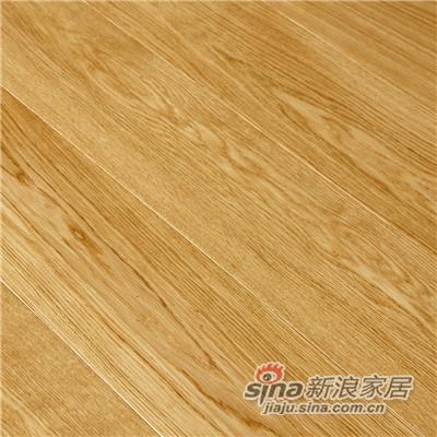德合家BEFAG三层实木复合地板B55613单拼精致橡木-1