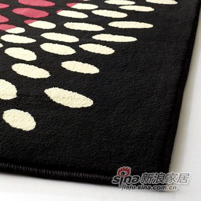 加勒沃多色短绒地毯-1