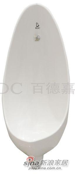 百德嘉陶瓷件小便器-H351004P-0