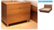 红苹果现代简约床头柜