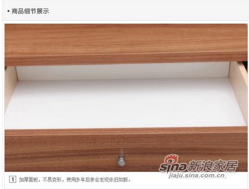 红苹果现代简约床头柜-2