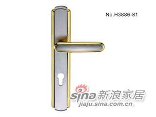 雅洁AS2011-H3886-8145铜锁体+70铜锁胆-0