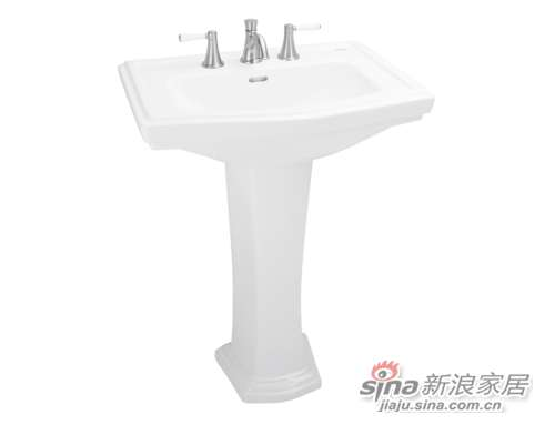TOTO立柱式洗脸盆LW780B-0