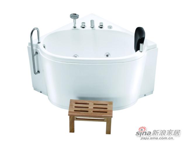 扇形迷你浴缸-0