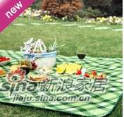 lovo家纺寻趣野餐垫-绿野 -0