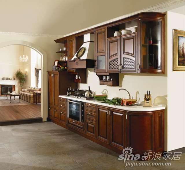 我乐橱柜实木系列佛罗伦萨