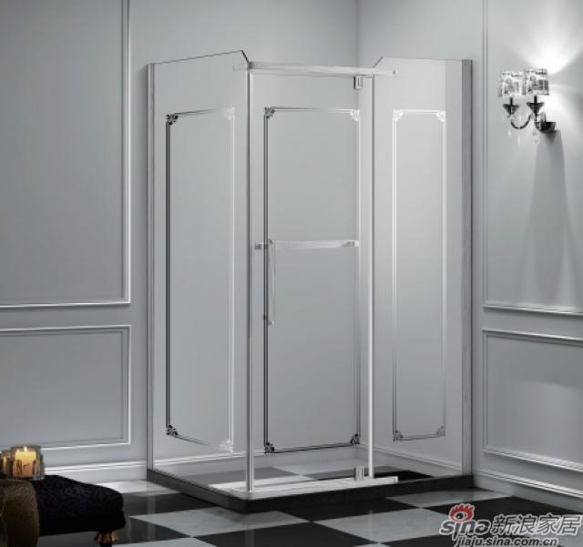 长方形二固一开沐浴房