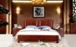光明家具纯实木双人床