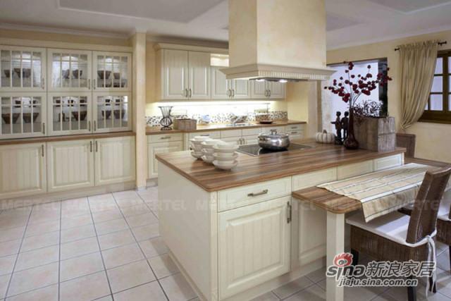 欧州开放式整体厨房橱柜设计-0