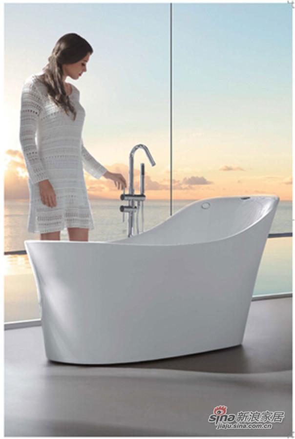 箭牌卫浴气泡按摩浴缸