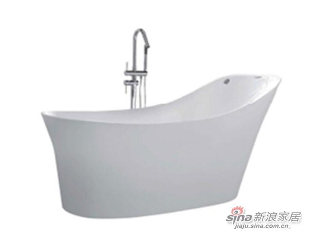 箭牌卫浴气泡按摩浴缸-2