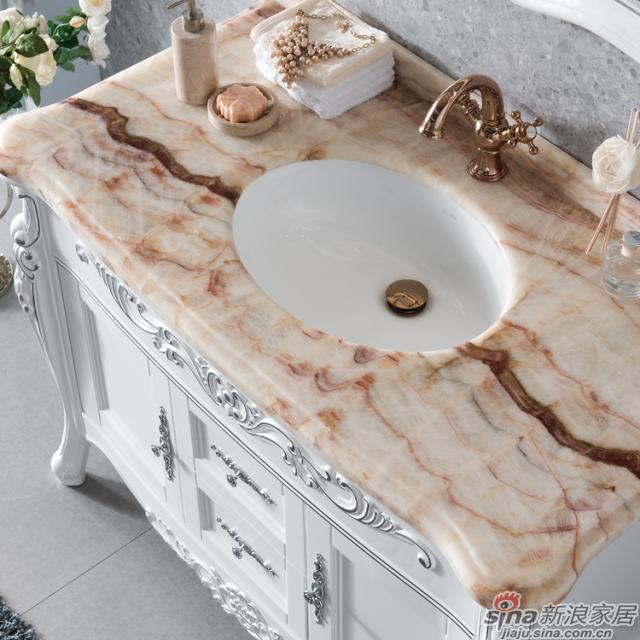 阿洛尼浴室柜-欧式仿古柜-A1163-1