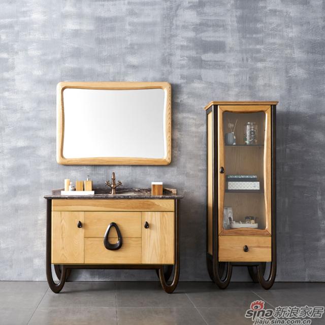 阿洛尼浴室柜-北欧旋律A1909