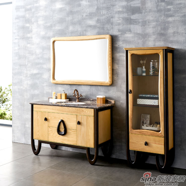 阿洛尼浴室柜-北欧旋律A1909-1