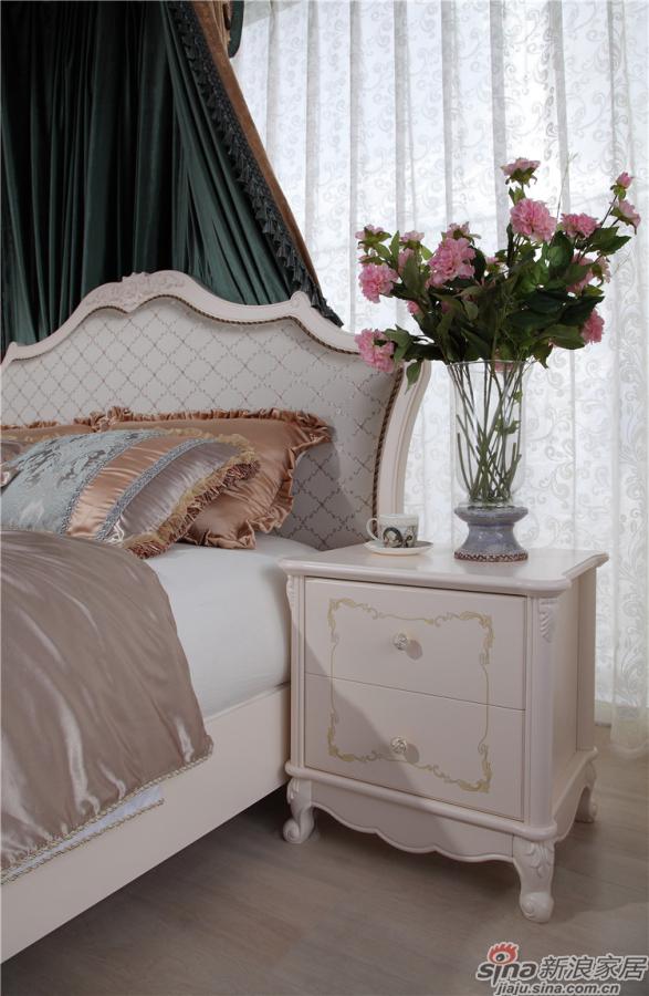 掌上明珠法式卧房空间-1
