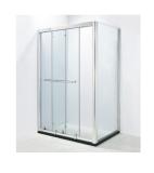 SH2-3071F方形二固二互动沐浴房(不锈钢)